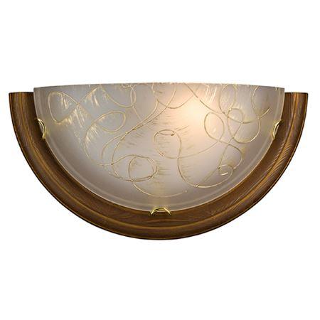 Бра Sonex Provence Brown золото/темный орех с золотой патиной 003