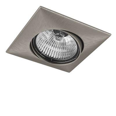 Встраиваемый светильник Lightstar Lega Qua никель 011035