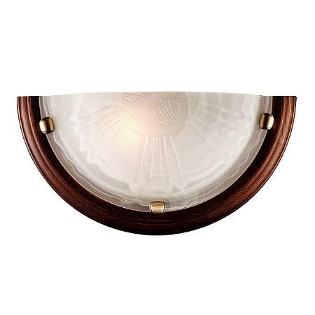 Бра Sonex Lufe Wood бронза/темный орех 036