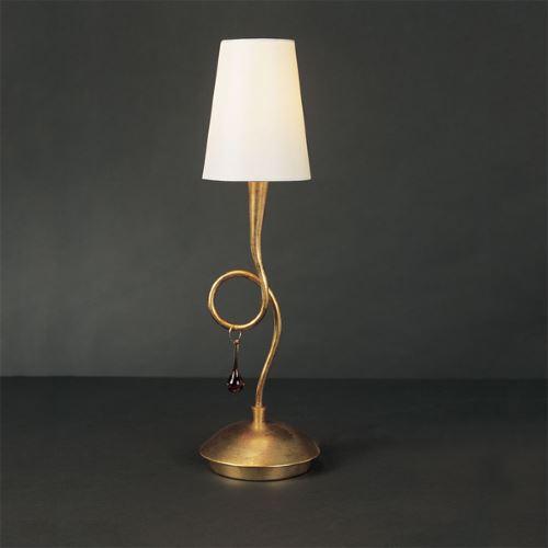Настольная лампа Mantra Paola золото 3545