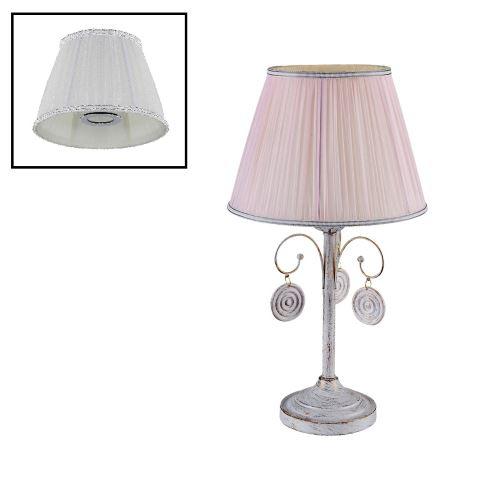 Настольная лампа Crystal lux Emilia белый/золотая патина LG1