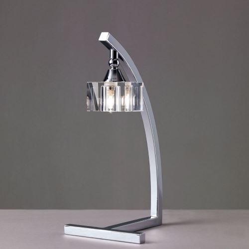 Настольная лампа Mantra Cuadrax Optico хром 0964