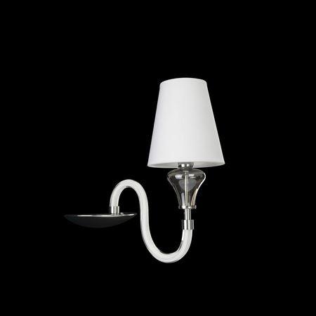 Бра Lightstar Otto хром/белый 809616