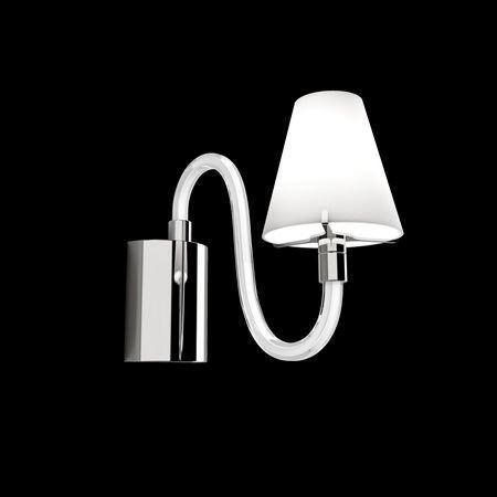 Бра Lightstar Bianco хром/белый 760616