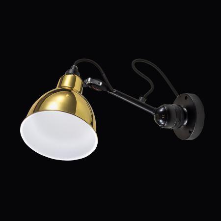 Бра Lightstar Loft черный/медный 765608