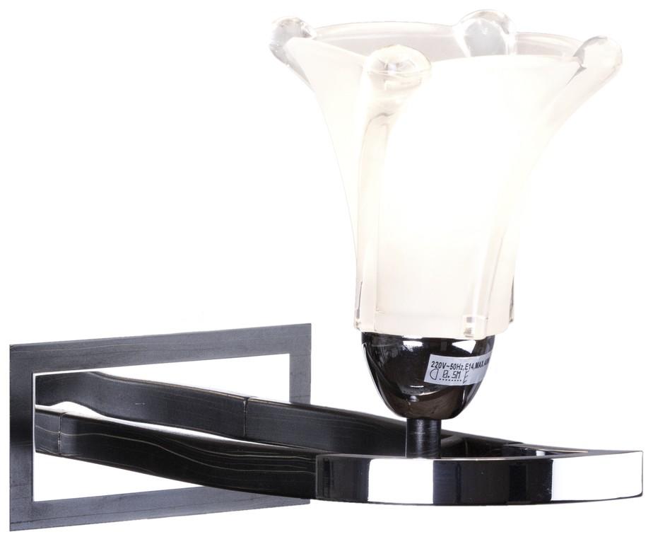 Бра Velante хром/темный венге 275-101-01