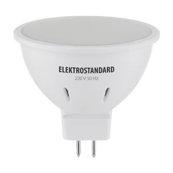 Лампа светодиодная Elektrostandard JCDR 3W GU5.3 4200K
