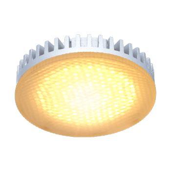 Лампа светодиодная Ecola GX53 LED 6W Tablet золотистый T5LG60ELC