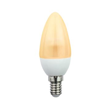 Лампа светодиодная Ecola Candle LED 4.2W E14 золотистый C4EG42ELC