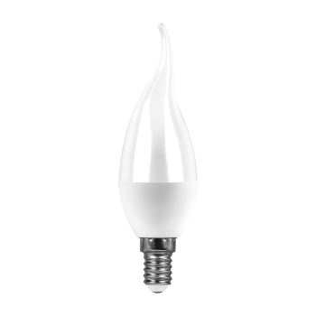 Лампа светодиодная Feron LB-97 LED Candle Tailed 7W E14 4000K(25761)