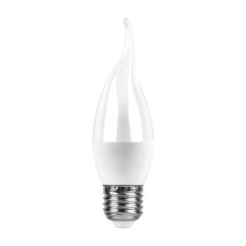 Лампа светодиодная Feron LB-97 LED Candle Tailed 7W E27 4000K(25763)