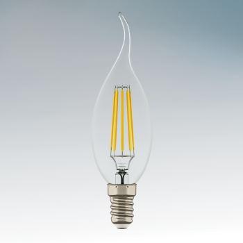 Лампа светодиодная Lightstar LED Candle Filament CA35 6W E14 2800K 933602