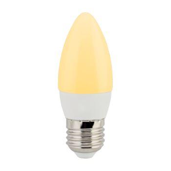 Лампа светодиодная Ecola Candle LED 6W E27 золотистый C7LG60ELC