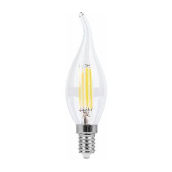 Лампа светодиодная Feron LB-69 LED Filament Candle Tailed Dimmable 5W E14 2700K(25653)