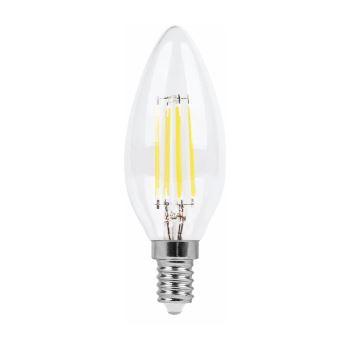 Лампа светодиодная Feron LB-68 LED Filament Candle Dimmable 5W E14 4000K(25652)