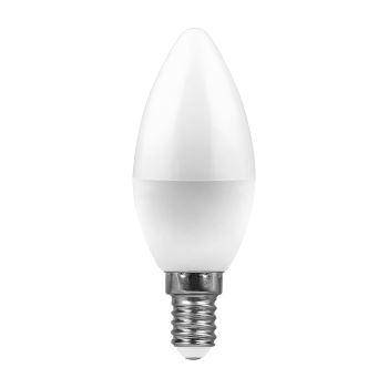 Лампа светодиодная Feron LB-97 LED Candle 7W E14 6400K(25477)