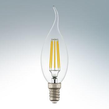 Лампа светодиодная Lightstar LED Candle CA35 4W E14 4200K 940664