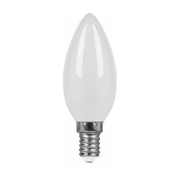 Лампа светодиодная Feron LB-58 LED Filament Candle 5W E14 4000K(25648)