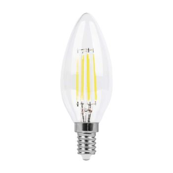 Лампа светодиодная Feron LB-58 LED Filament Candle 5W E14 4000K(25573)