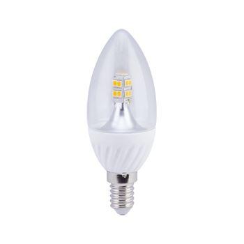 Лампа светодиодная Ecola Candle Crystal LED 4W E14 2700K C4NW40ELC