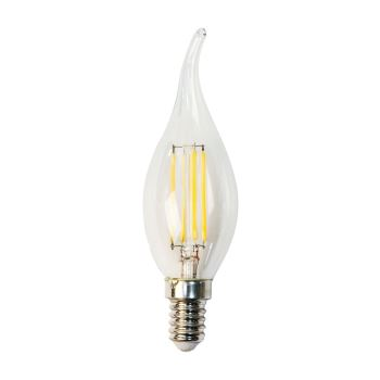 Лампа светодиодная Feron LB-59 LED Filament Candle Tailed 5W E14 6400K(25577)