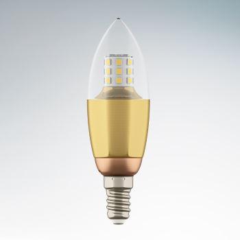 Лампа светодиодная Lightstar LED Candle C35 7W E14 3000K 940522