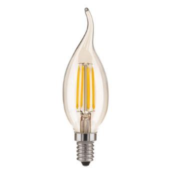 Лампа светодиодная Elektrostandard Filament Свеча CDW F 5W E14 4200K