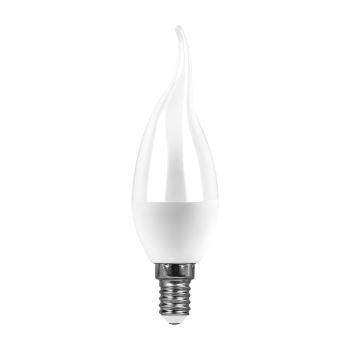 Лампа светодиодная Feron LB-97 LED Candle Tailed 7W E14 2700K(25760)