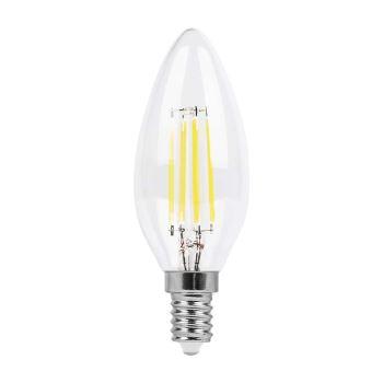 Лампа светодиодная Feron LB-58 LED Filament Candle 5W E14 6400K(25574)
