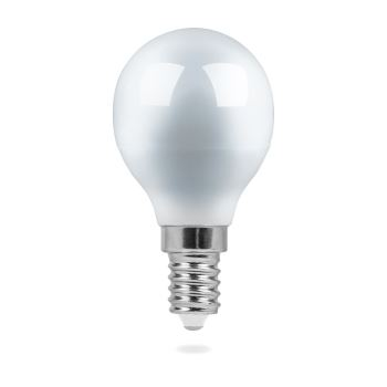 Лампа светодиодная Feron LB-95 LED Globe G45 7W E14 2700K(25478)