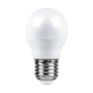 Лампа светодиодная Feron LB-95 LED Globe G45 7W E27 6400K(25483)