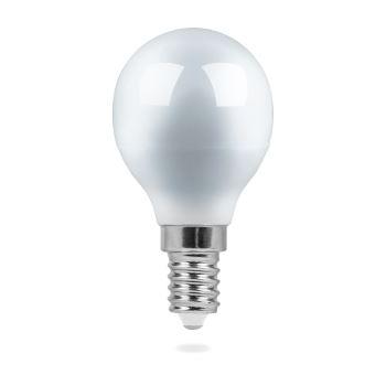 Лампа светодиодная Feron LB-95 LED Globe G45 7W E14 4000K(25479)