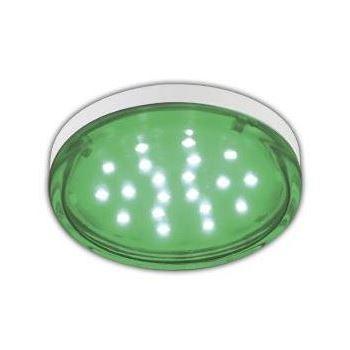 Лампа светодиодная Ecola GX53 LED Color Tablet 4.4W Green T5TG44ELC
