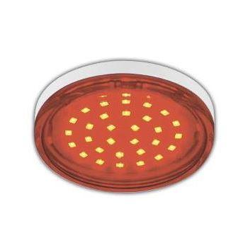 Лампа светодиодная Ecola GX53 LED Color Tablet 4.4W Red T5TR44ELC