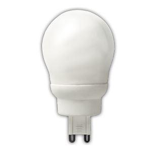 Лампа энергосберегающая Ecola Globe 9W ELG G45 G9 2700K(K9SW09ECC)