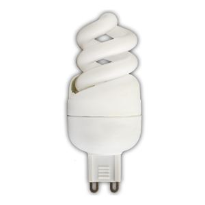 Лампа энергосберегающая Ecola Spiral 9W Slim G9 4000K(GS9V09ECB)