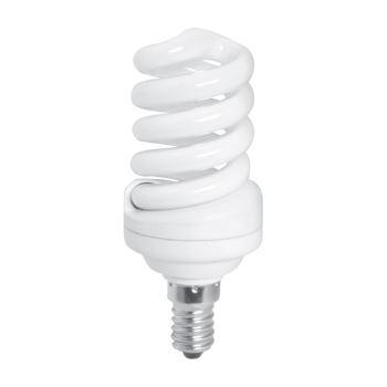 Лампа энергосберегающая Ecola Spiral 15W Mini S-16A E14 2700K(Z4SW15ECB)