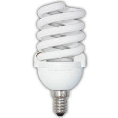 Лампа энергосберегающая Ecola Spiral 25W Slim Full E14 4100K(Z4SV25ECL)