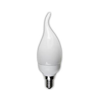 Лампа энергосберегающая Ecola Candle Tailed 9W EIC/DN E14 4100K(C4NV09ECC)