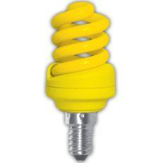 Лампа энергосберегающая Ecola Spiral Color 12W E14 Yellow(Z4CY12ECB)