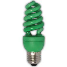Лампа энергосберегающая Ecola Spiral Color 15W E27 Green(Z7CG15ECB)