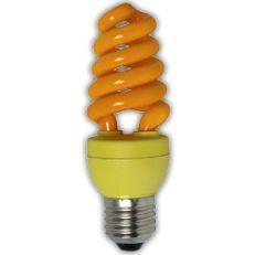 Лампа энергосберегающая Ecola Spiral Color 15W E27 Yellow(Z7CY15ECB)