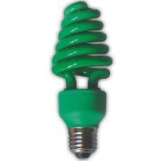 Лампа энергосберегающая Ecola Spiral Color 20W E27 Green(Z7CG20ECB)