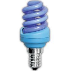 Лампа энергосберегающая Ecola Spiral Color 12W E14 Blue(Z4CB12ECB)