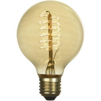 Ретро лампа накаливания Lussole Loft 60W E27 2700K GF-E-7125