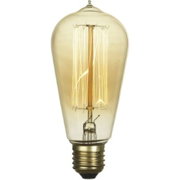 Ретро лампа накаливания Lussole Loft 60W E27 2700K GF-E-764