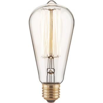 Ретро лампа накаливания Elektrostandard Loft ST64 60W E27 2700K