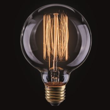 Ретро лампа накаливания Voltega Loft G80 40W E27 2700K