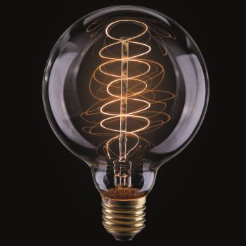 Ретро лампа накаливания Voltega Loft G95 60W E27 2700K