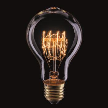 Ретро лампа накаливания Voltega Loft A75 40W E27 2700K